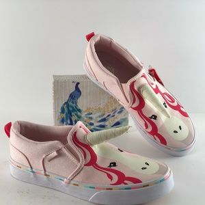 Vans Asher Unicorn Pink/White Sneakers